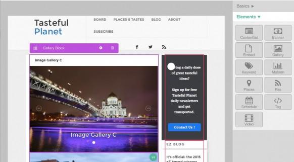 eZ Studio - Landingpages einfach erstellen