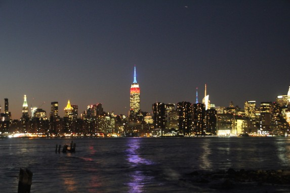 Skyline New York vom Tagungshotel aus gesehen