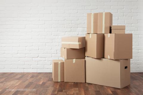 Kartons und Boxen Verpackungsgesetz 2019